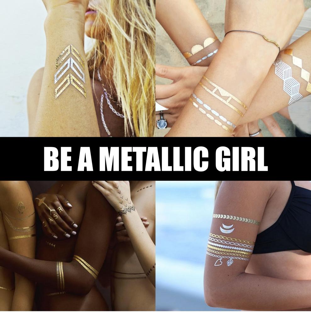 METALLIC TATTOO girl1